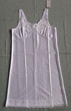 Ladies Full Under Slip Petticoat by Marlon Sizes 12-32 White 18