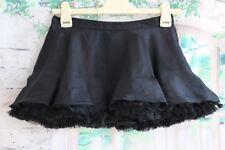 Ladies TOPSHOP Very short Mini Tutu Black Skirt - UK8