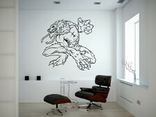 Wall Vinyl Sticker Decal Anime Manga Werwolf Worgen V083