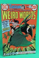 Weird Worlds #4 Tarzan John Carter Edgar Rice Burroughs Comic DC Comics F/F+