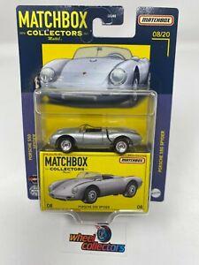 Porsche 550 Spyder * 2021 Matchbox Collectors w/ Rubber Tires