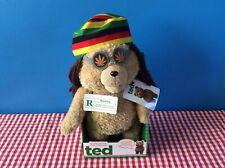 Genuine Ted the Movie Talking Bear Moving Mouth Plush Rastafarian