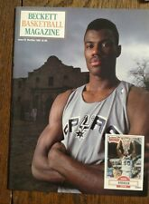 Issue #5 Beckett Basketball Magazine Nov/Dec 1990 David Robinson front cover