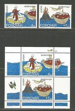 Faroe Is 1994 Europa/Exploration-Attrac tive Ship Topical (264-65a) Mnh
