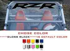 (#587) Polaris winshield sticker RANGER RZR 800 900 1000 XP  team decal emblem