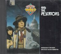 Doctor Who And The Pescatons CD Audio Book RARE Silva Screen Tom Baker FASTPOST