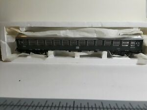 Vintage Lima HO scale Green Second Class Passenger Car DB Germany L/N in Box