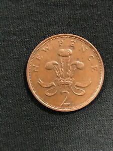 STUNNING 1979 2 cent NEW PENCE ELIZABETH II  FREE SHIPPING
