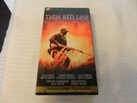 The Thin Red Line (VHS, 1999) George Clooney, Nick Nolte, Sean Penn