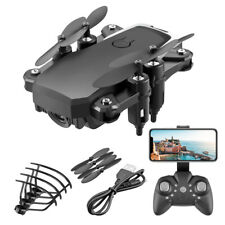 Mini Drohne Faltbare FPV WIFI Mit 1080P 4K HD Kamera 3D Flip KopflosModu Schwarz