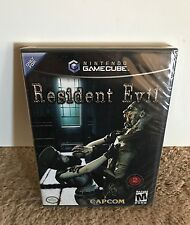 Resident Evil BLACK LABEL NEW SEALED! Y-FOLD FIRST PRINT! Nintendo GameCube