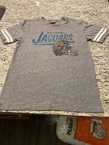 Jacksonville Jaguars Gray Junk Food T Shirt Size L