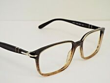 Authentic PERSOL 3013V 1026 Brown to Light Brown Gradient Eyeglasses Frame $319*
