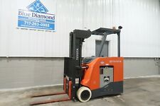 "2015' Toyota 8Fbncu20, 4,000# Electric Forklift, 36 Volt Battery, 240"" Quad Mast"