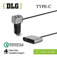 DLG Car Charger QC3.0 57Wmax USB-C port For Samsung-Phone-HTC-LG AU STOCK