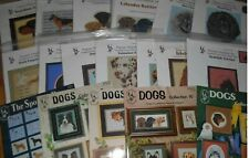 Pegasus DOG, DOGS,DOG BREED Counted Cross Stitch Booklets,Charts *YOUR CHOICE*