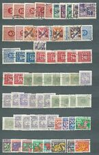 LOT Nº 3 - TCHECOSLOVAQUIE - 1926-1972 - TIMBRES TAXES