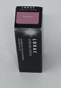LORAC ALTER EGO LIPSTICK IN THE COLOR NYMPH HTF