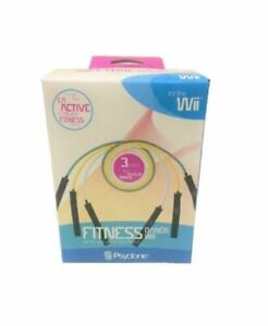 Resistance Bands EA Active & Other Fitness Wii Games (2 boxs for 6 bands total)