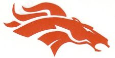 REFLECTIVE Denver Broncos fire helmet motorcycle hard hat decal sticker yeti