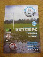 Revista de movilización de Mar-2010: edición 08-el único domingo Liga de fútbol Magazin