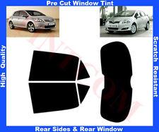 Pre-Cut Window Tint Toyota Auris 5D 2006-2012 Rear Window & Rear Sides Any Shade