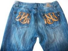 Rock & Republic Henlee Sz 38 x 26 Short Medium Wash Button Fly Men's Jeans