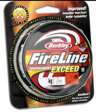 Berkley 2.7kg 6 Lb - FireLine Tournament Exceed PE Braid SMOKE 114m / 125yds