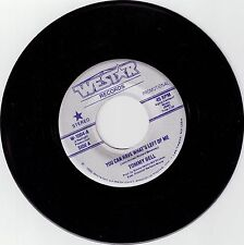 BELL, Tommy  (You Can Have What's Left Of Me)  Westar 1004=PROMO record +FREE PS