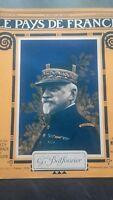 Revista El País de France El Mañana N º 101 París 1916 GAL Balfourier ABE
