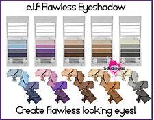 E.L.F ELF FLAWLESS EYESHADOW QUAD PALETTE STEP BY STEP SMOKEY EYE BLACK BROWN