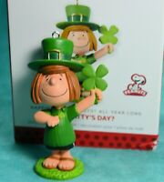 Peppermint Patty ornament St Patrick's Day Hallmark Keepsake