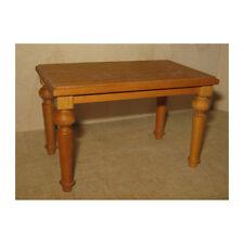 Puppenhaus Mahagoni Tisch und Spiegel Holz Miniatur Möbel 1:12 Maßstab Puppenstuben & -häuser
