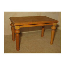Liebe Handarbeit 46062 table carré table salle à manger bois 1:12