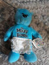 VINTAGE Brady Bunch Bean Bag Stuffed Bear