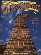 Over 22,000 Chords: The Guitar Chords Wheel Book. Partitions pour Guitare(Boîte