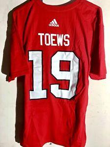 adidas  NHL T-Shirt Chicago Blackhawks Jonathan Toews Red sz 2X
