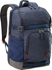 "Wenger 602657 STREETFLYER 15.6"" Backpack with Tablet Pocket In Denim 22 Litres"