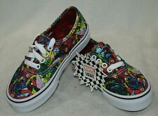 295545b7c63a42 Vans Boy Girl s Authentic Marvel Muticolor Skate Shoes - Assorted Sizes NWB