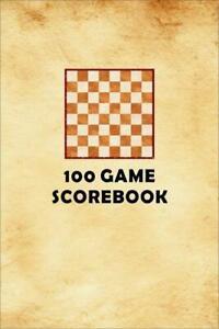 100 Games Chess Scorebook