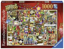 RAVENSBURGER PUZZLE WEIHNACHTEN*1000 T*COLIN THOMPSON*THE CHRISTMAS CUPBOARD*RAR