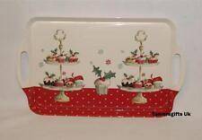 Leonardo Christmas Cup Cakes Large Dinner Serving Lap Tray £4.95p!!