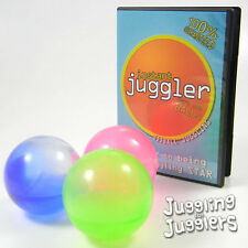 3 x 78mm Sil-X Implosion Juggling Balls and Free Instructional DVD