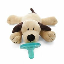 New Wubbanub Brown Puppy Pacifier - Free Shipping