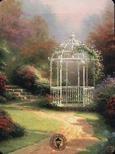 Lilac Gazebo - Painter of Light Art Card, Path - Thomas Kinkade Dealer Postcard