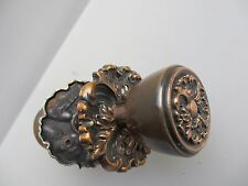 Old Door Knobs Handles Copper Plate Metal Gilt Leaf Rococo Baroque Antique Style