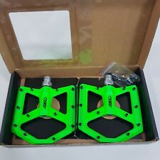 Azonic Pedal Kamikaze Super Thin Super Light Bicycle Pedals Neon Green