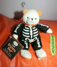 Hallmark Little Brandon Bear In Skeleton Costume With Tags