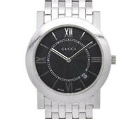 GUCCI 5200M black Dial Stainless Steel Quartz Men's Watch V#101137