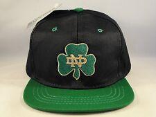 Toddler Size NCAA Notre Dame Irish Vintage Snapback Hat Cap Navy Green